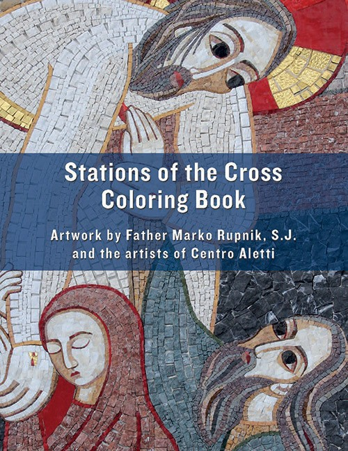 Coloring The Way Cross