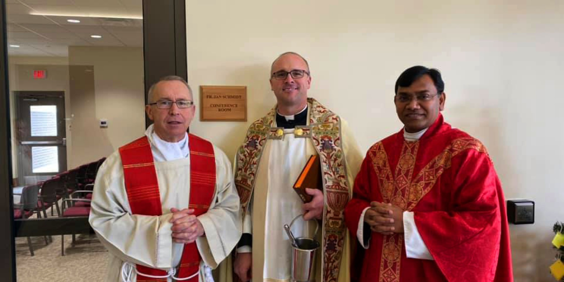 Blessing of the Father Jan Schmidt Room